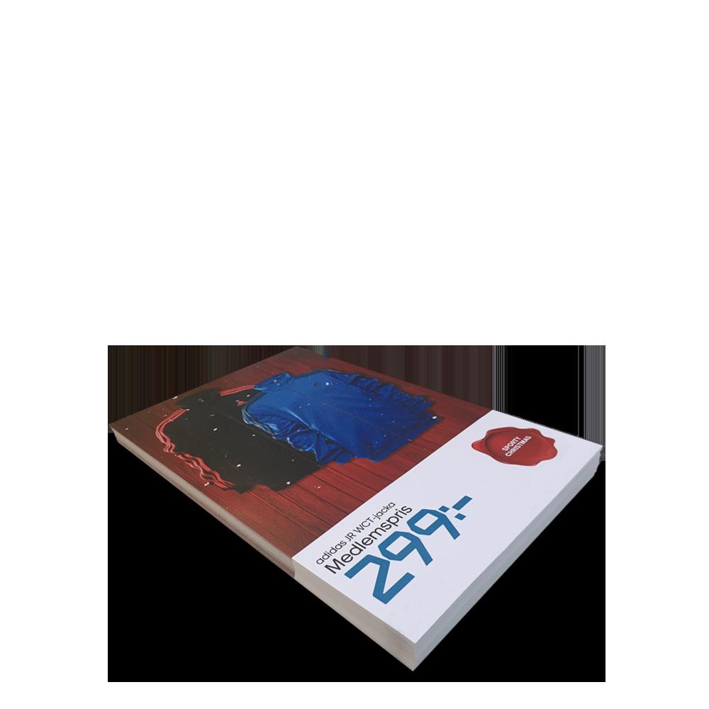 A4 tryck, lösblad, flyers i paper