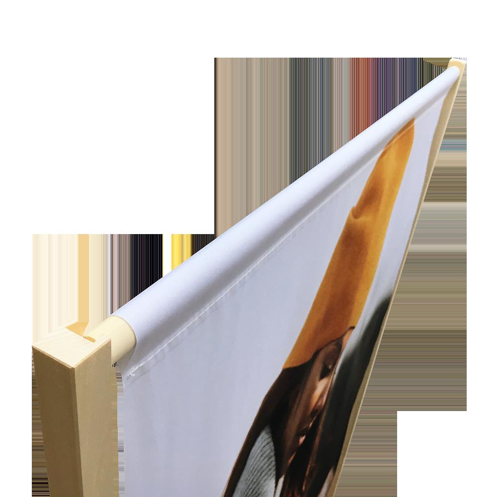 Bannerdisplay trä