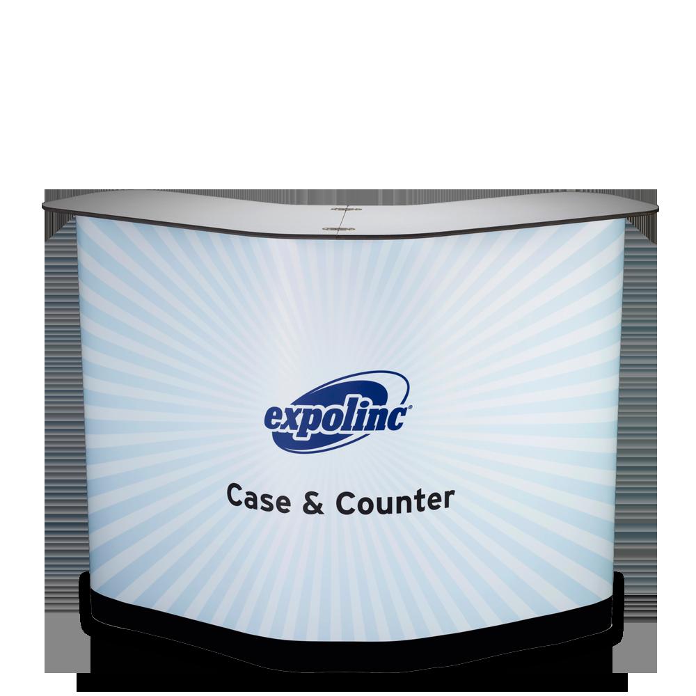 Mässbord Case & Counter