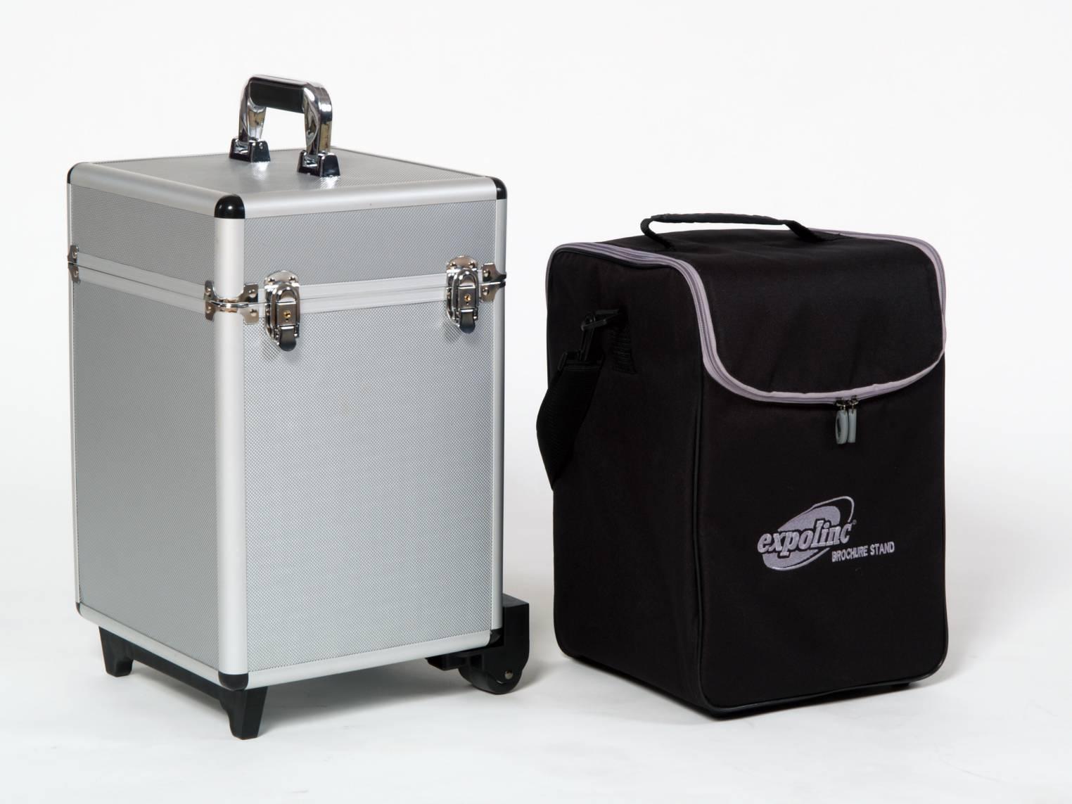 Väskor till Broschyrställ – enkelsidigt ihopfällbart från Expolinc
