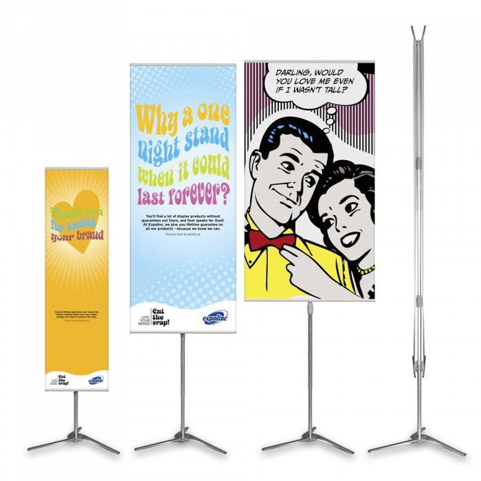 Pole System displayställ - Expolinc
