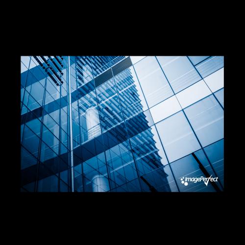 Solfilm vindue - Sølv spejl