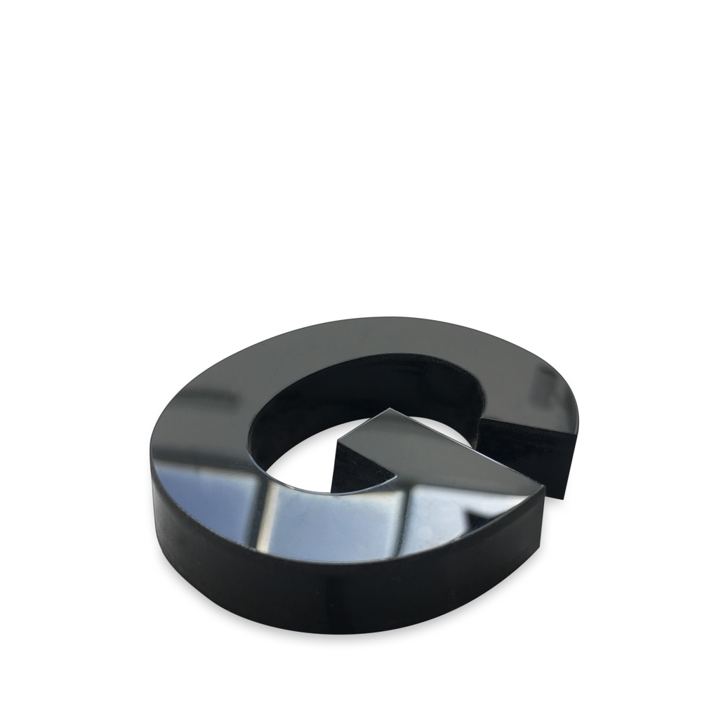 Text-bokstäver akryl plexiglas