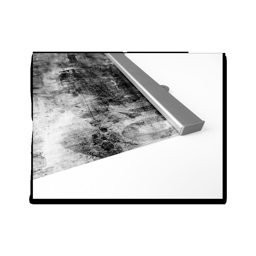 Affischlist aluminium