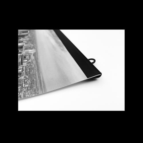 Affischlist plast - svart