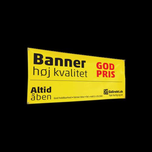 Bannere og facadebannere