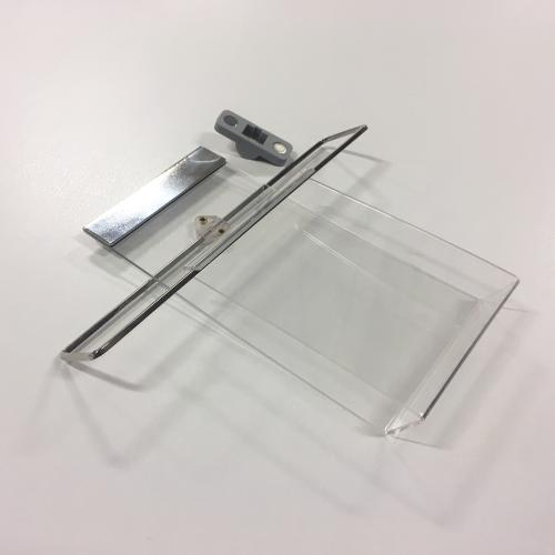 Broschyr hållare till foldrar med magnet till rollup