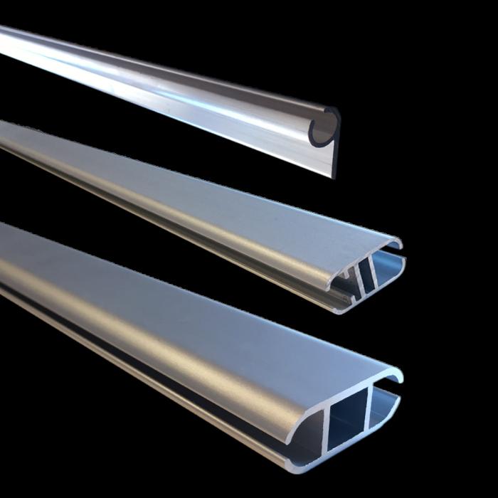 Aluminiumprofil till banderoll med kederlist