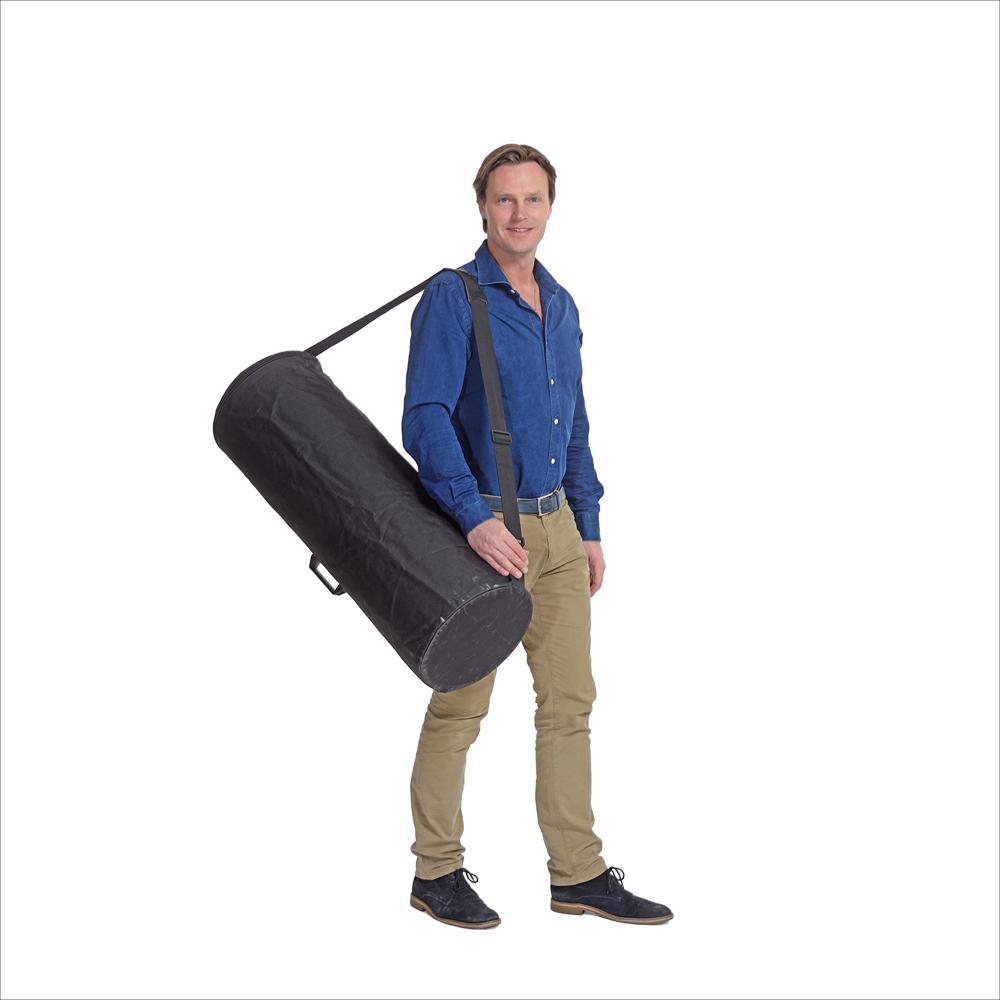 Transportväska som eventbord