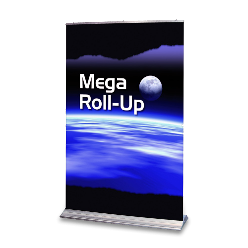Stort roll-up-banner Mega XL