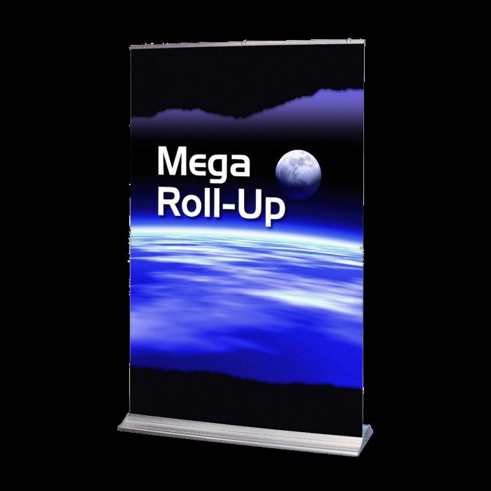 Stort roll-up-banner Mega XL