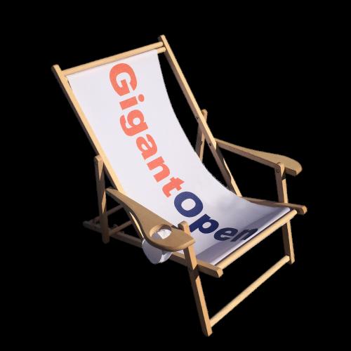 Liggestol/strandstol med tryk