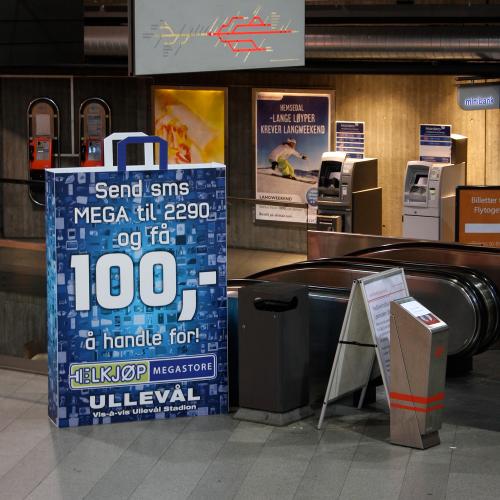 Unika displayer till event med tryck
