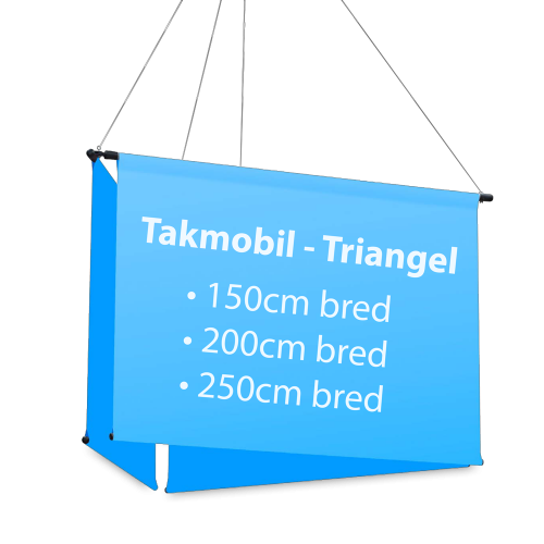 Takmobil - triangel